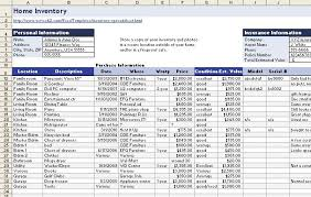 download a free home inventory spreadsheet pcworld