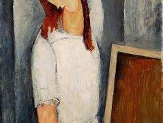 modigliani woman with a fan woman with a fan lunia czechowska amedeo modigliani allpanters org