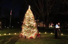 tree lighting ceremony new harmony inn resort and