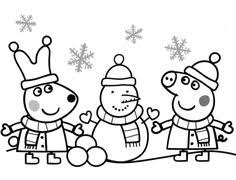 mom peppa pig cartoon coloring pages kids printable free