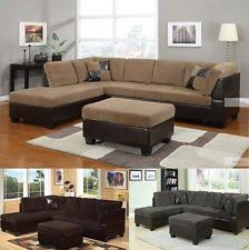 Corduroy Sectional Sofa Corduroy Sectional Sofas Loveseats Chaises Ebay