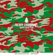 camo christmas camouflage merry christmas background cover stock vector