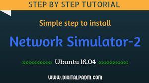 ubuntu network install tutorial steps to install ns2 on ubuntu 16 04 digital padm