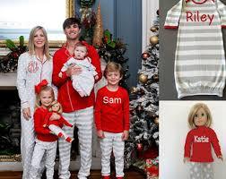pajamas monogrammed pjs personalized