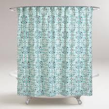 Mint Green Bathroom Accessories by Bathroom Pretty Ikat Shower Curtain For Bathroom Decoration Ideas