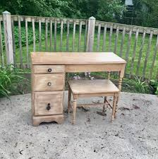 Small Childrens Desk by Vintage Writing Desk With Bench Seat Small Desk Child U0027s Desk