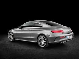 mercedes coupe c class 2017 mercedes c class coupe launches in europe with six engines