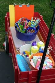 red wagon ideas 21 ways to repurpose little red wagons