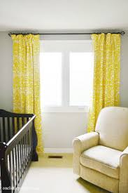 Yellow Curtains Nursery Yellow And White Curtains For Nursery 100 Images Homey Ideas
