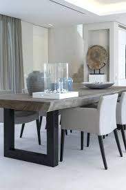 modern grey round dining table modern grey leather dining chairs