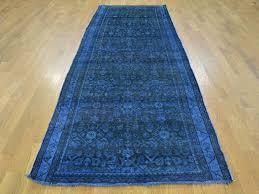 20 ideas of hallway runners blue