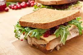 healthy thanksgiving leftover sandwich