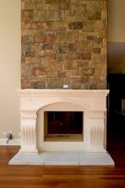astounding stucco fireplaces images best idea home design