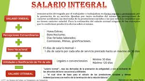 calculo referencial de prestaciones sociales en venezuela salario normal y salario integral estudios jurídicos