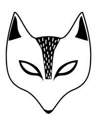 free printable children u0027s halloween masks la petite academy