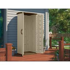 Rubbermaid Roughneck Gable Storage Shed Accessories by Outdoor U0026 Garden Chic Vertical Siding Suncast Sheds For Outdoor