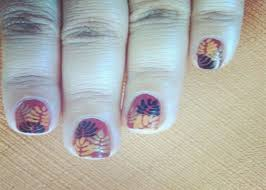 nail designs fall leaves manicure for short nails cute nail