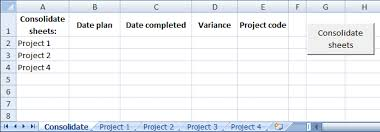 combine data from multiple sheets in excel