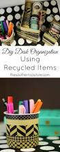 Diy Desk Organization by Diy Desk Organization Using Recycled Items Southern Couture