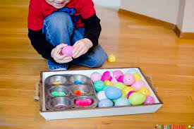 easter egg color sorting busy toddler