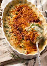 cheddar green bean casserole healthy seasonal recipes