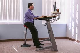 Our Mobis Leaning Stool Is An Energy Boost At Any Standing Desk