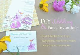 print your own wedding invitations print your own wedding invitations free templates wblqual