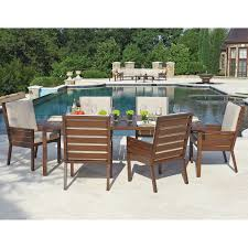 studio 7 piece dining set with 6 motion chairs