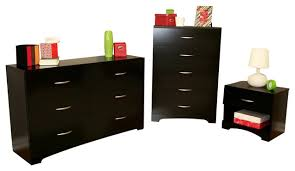 dresser and nightstand sets most popular design black lacquered