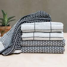 stylish quality grid towels by mette ditmer denmark available