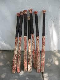dave lowe design the blog making a zombie bashing baseball bat
