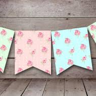 Shabby Chic Banner by Freebies 4 U Baby Shower Ideas Themes Games