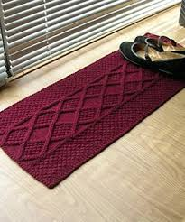 rug knitting patterns in the loop knitting