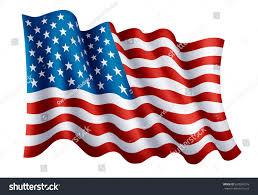 Usa Flag Photos Illustration Waving Usa Flag Isolated Flag Stock Vector 659504218