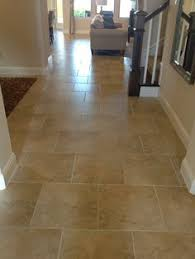 Tile Floor Designs For Kitchens by Tile On Stairs Can Be A Beautiful Durable Alternative However