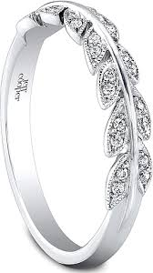 leaf wedding band jeff cooper leaf motif diamond wedding band rp1615b