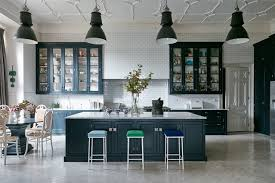 white kitchen ideas uk white kitchen with blue units kitchen design ideas