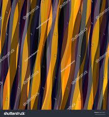 Orange Home Decor Orange Grey Striped Pattern Wavy Stripes Stock Vector 666318061