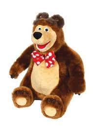 misha bear talking stuffed toy masha bear product