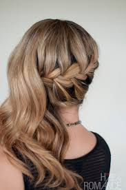 latest holiday wood hairstyles romantic side swept french braid holiday hair inspirations
