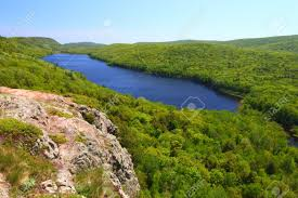 Michigan mountains images Lake of the clouds at porcupine mountains state park in northern jpg
