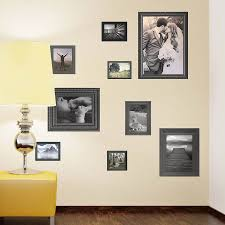 black photo frames wall stickers by the binary box black photo frames wall stickers