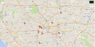Los Angeles Freeway Map by November 2013 The Phunion 2013 November