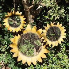 sunflower garden decor u2013 home design and decorating