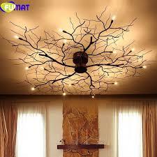 branch chandelier fumat modern branch chandelier globe creative black metal twig