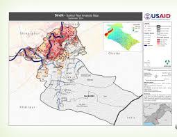 sukkur map pakistan sindh sukkur risk analysis map september 2014