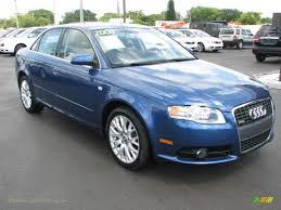 Audi A4 S Line 2005 2008 Audi A4 2 0t S Line Sedan In Ocean Blue Pearl Effect 139378