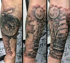 tattoo compass hand 70 compass tattoo designs for men an exploration of ideas