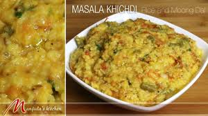 Manjula Kitchen Masala Khichdi Rice And Moong Indian Classic Meal Recipe By