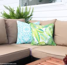World Market Outdoor Pillows by How To Protect Your Outdoor Cushions The Happy Housie
